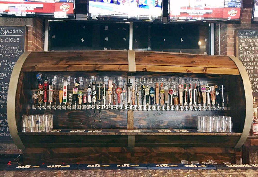 50+ Beers on Tap!  Our selection rotates monthly!