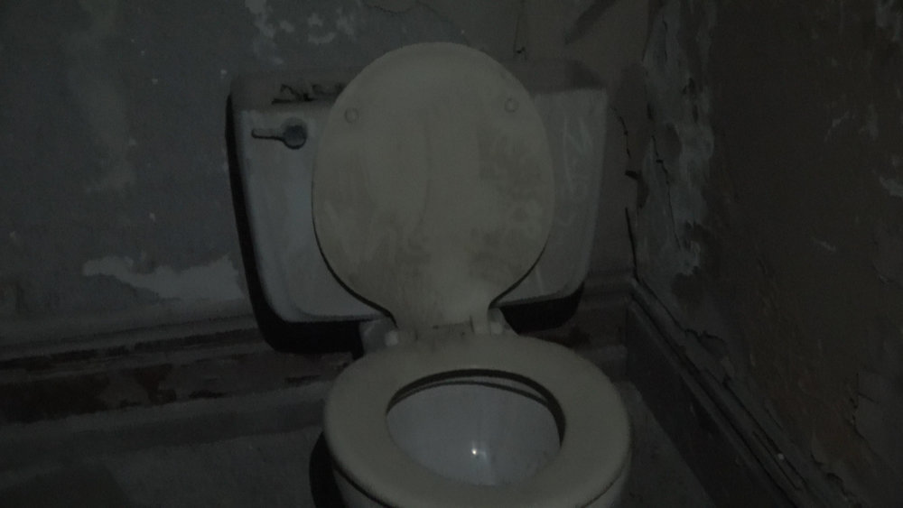 Spoopy abandoned toilet
