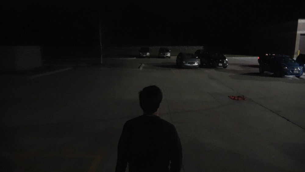 Evan in The Dark