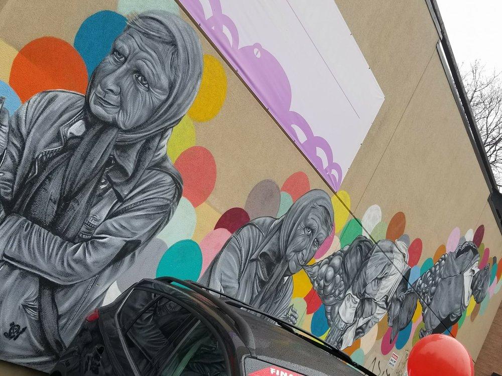 A rad mural
