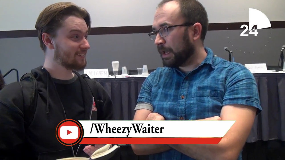 One of the times I met WheezyWaiter