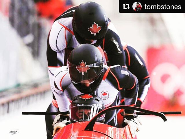 Fired up for day 2 of racing with the boys. #teamcanada #olympics