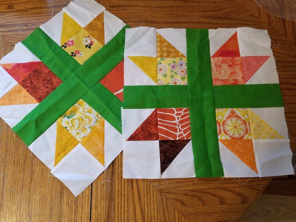 October 2018 - New England Quilt Block
