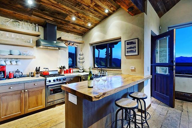 come visit this #backcountrykitchen this summer. #aspenco #coloradocabin