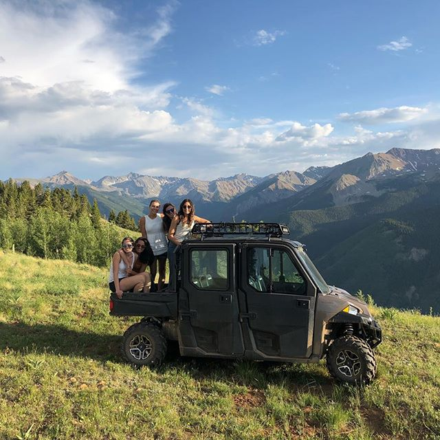 Summertime cruising on the backside  #aspencolorado #polaris #rockymountainhigh