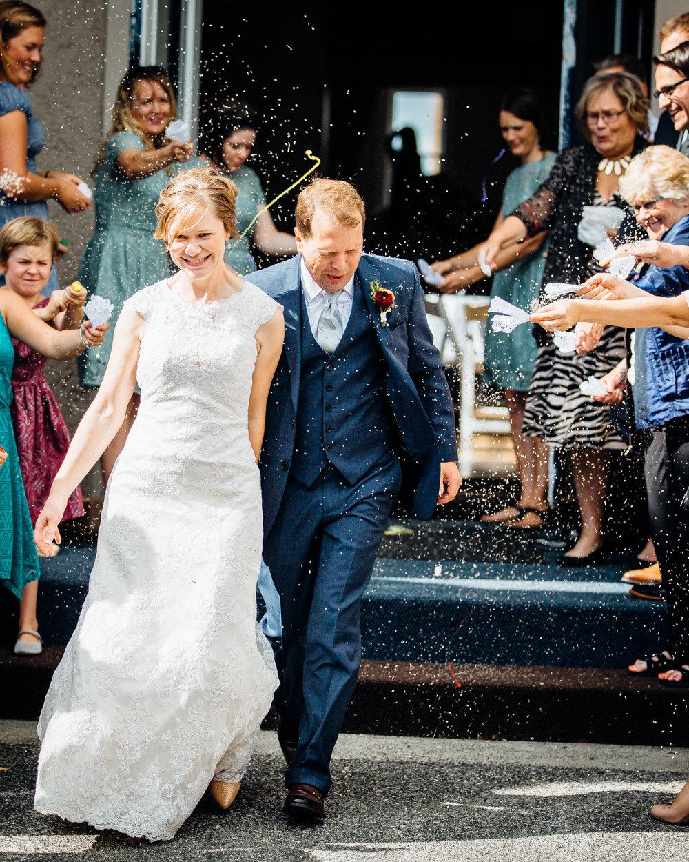 Bellingham Washington Wedding, departing from the Majestic Ballroom