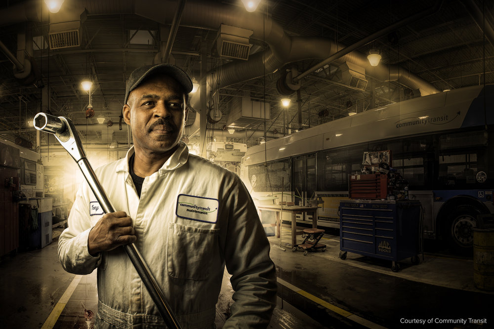 Mechanic Portrait, Everett Washington