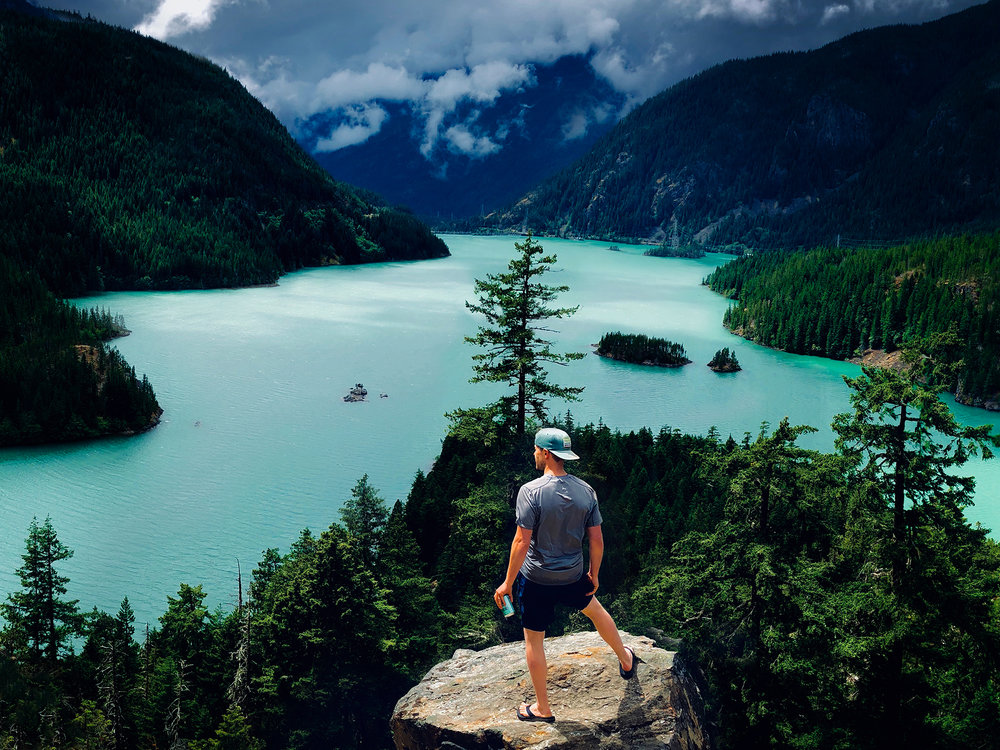 Diablo Lake, North Cascades, Washington