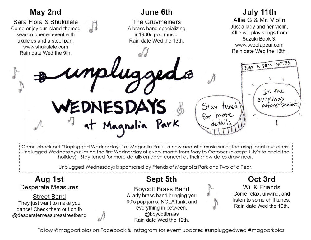 Unplugged Wed Music Series Flyer b & w jpeg 3.27.18.jpg