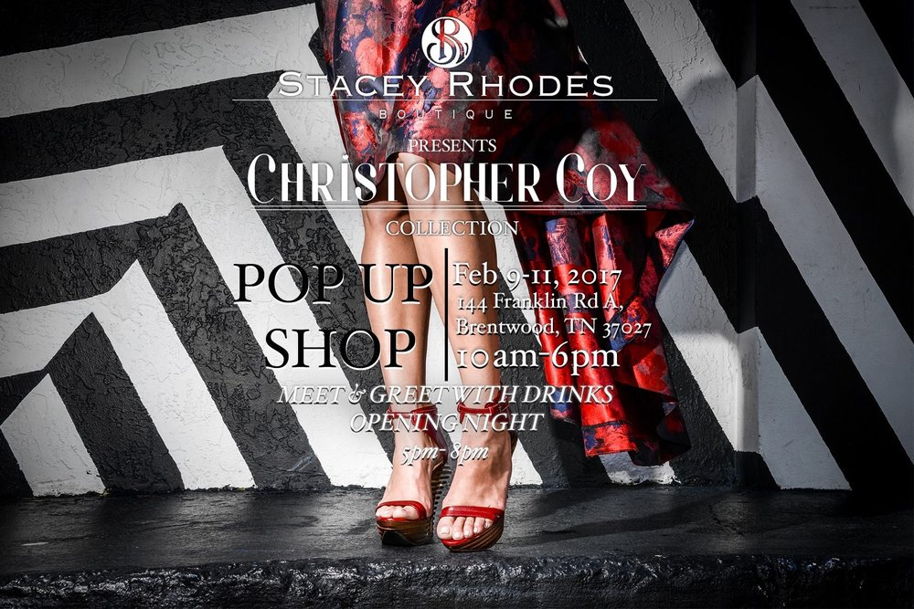 Christopher Coy Launch Party & Pop Up Shop