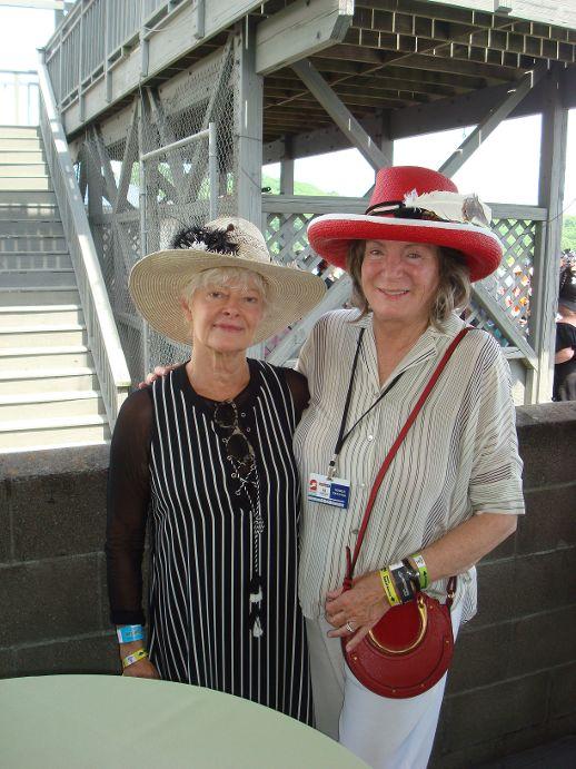 Steeplchase Carol Carr and Sara Jo Houghland Gill.JPG