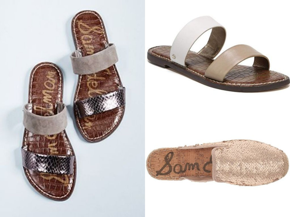 Slide into Summer - They're the summer shoe everyone is talking about! These slide-on sandals are equally stylish & comfortable!