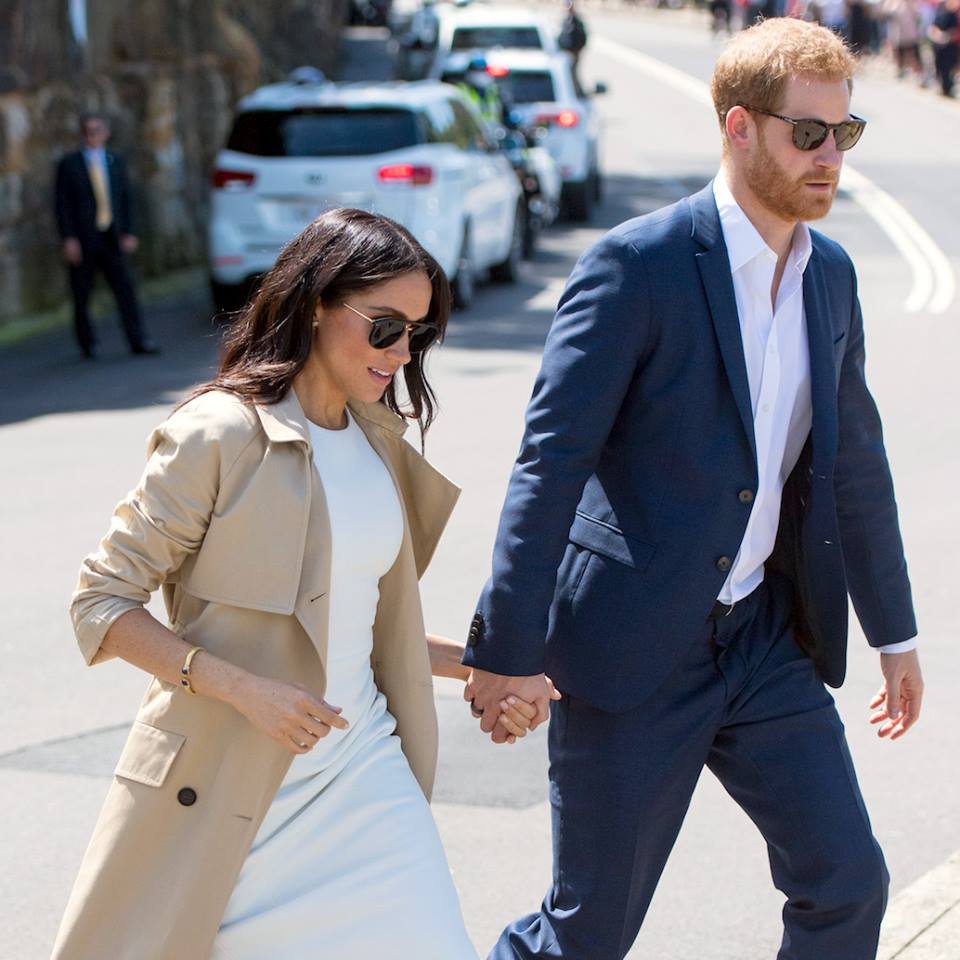 Krewe  sunglasses are a favorite of  Meghan Markle  seen here with Prince Harry.
