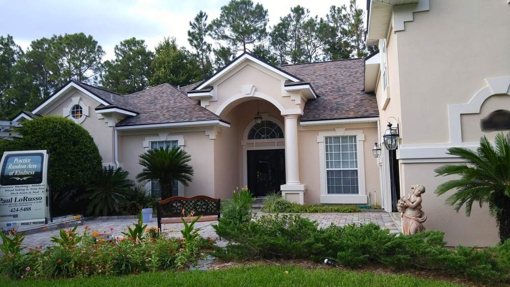 One of many top quality exterior paint jobs completed by our team in Fleming Island.