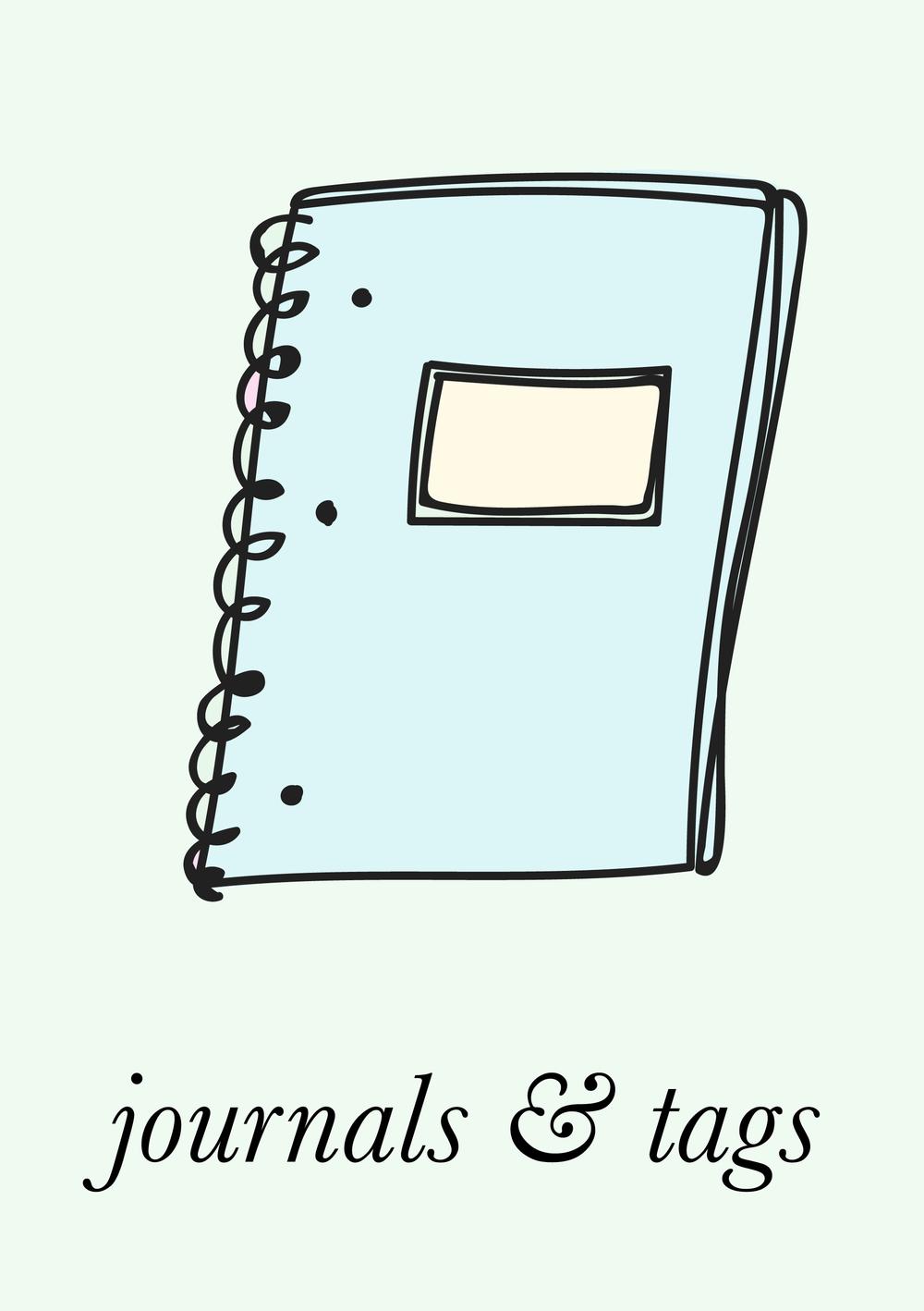 littlepinkstudio.com | journals and tags