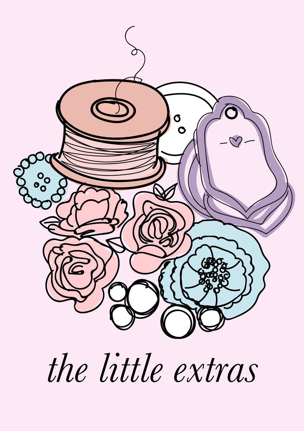 littlepinkstudio.com | the little extras