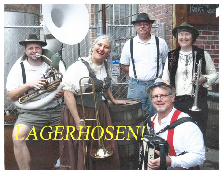 Live music from Lagerhosen!, a 5-course meal, cooking demonstrations, beer*, and games!