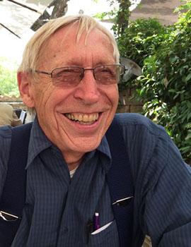 Poet in Residence Newton Smith