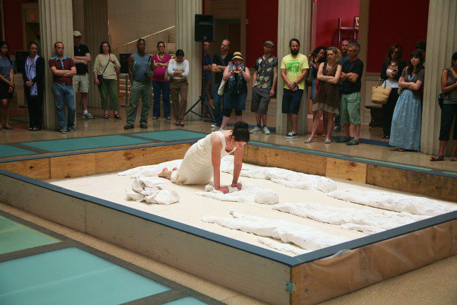 Body- solo performance,  The Corcoran Gallery of Art,  2012 (Made possible by a Young Artist Grant The DC Commission for Arts and Humanities)