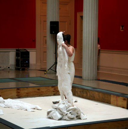 Body- solo performance,  The Corcoran Gallery of Art,  2012 (Made possible by a Young Artist Grant from The DC Commission for Arts and Humanities)