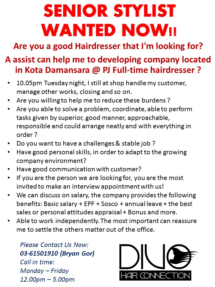 SENIOR STYLIST WANTED NOW!!_english.jpg