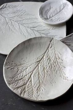 Nature Stamped Pottery - From a craft store, get the air dry clay. Gather flowers, acorns, ferns, seeds or leaves. Make a small bowl or cup out of the clay. Use your fingers to shape it. Press the flower or fern or leaf into the bowl or cup until there is a shape. Take the flower, fern or leaf off and leave a permanent impression. Make a set of bowls or cups and when dry have a tea party or picnic. This technique for making simple plaster texture stamps out of found objects comes from Woodstock, New York, ceramic artist Meg Oliver.Activity courtesy of Vlatka Herzberg