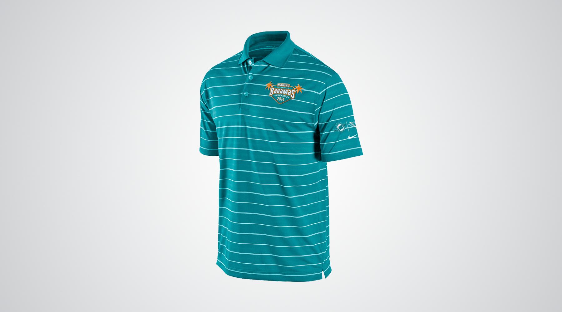9ae332dca Miami Dolphins Polo Shirts