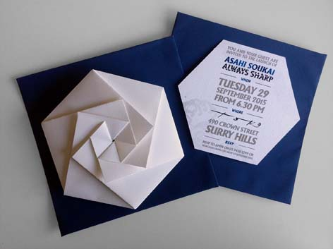 11--Invitation--AMPR-Ortigami--Hexagon-on-Navy-envelope.jpg