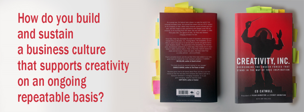 Book Review of Ed Catmul's Creativity, Inc.