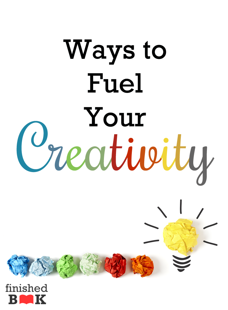 Writing can drain your creativity pretty quickly if you're not careful. Refuel with these ways!