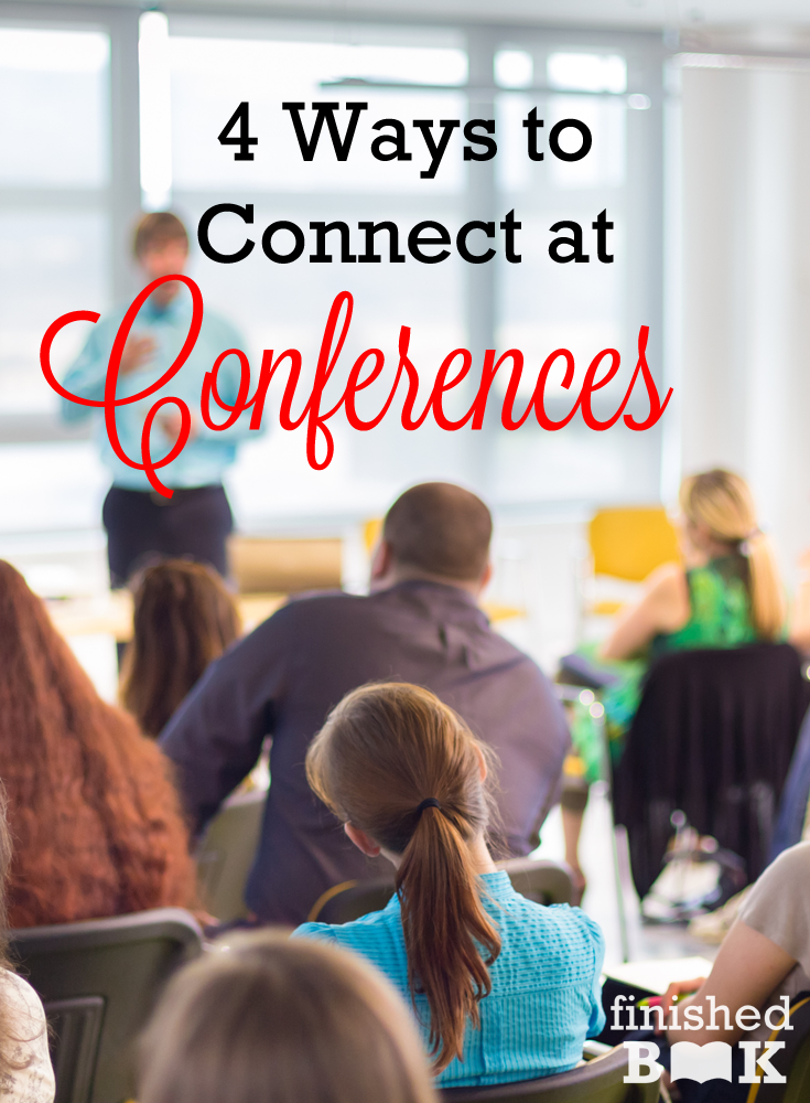 Nervous about attending your first writing conference? Packing up for your second, third, or fourth? Tips for everyone to make the most of your time there!
