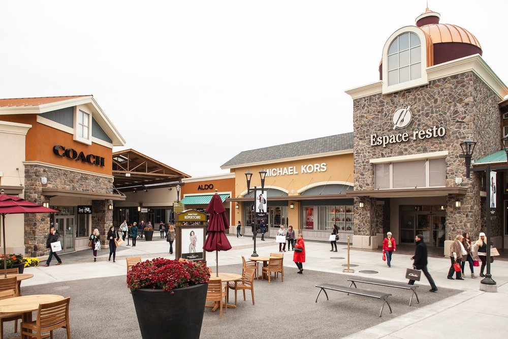 Images courtesy of Premium Outlets Montréal