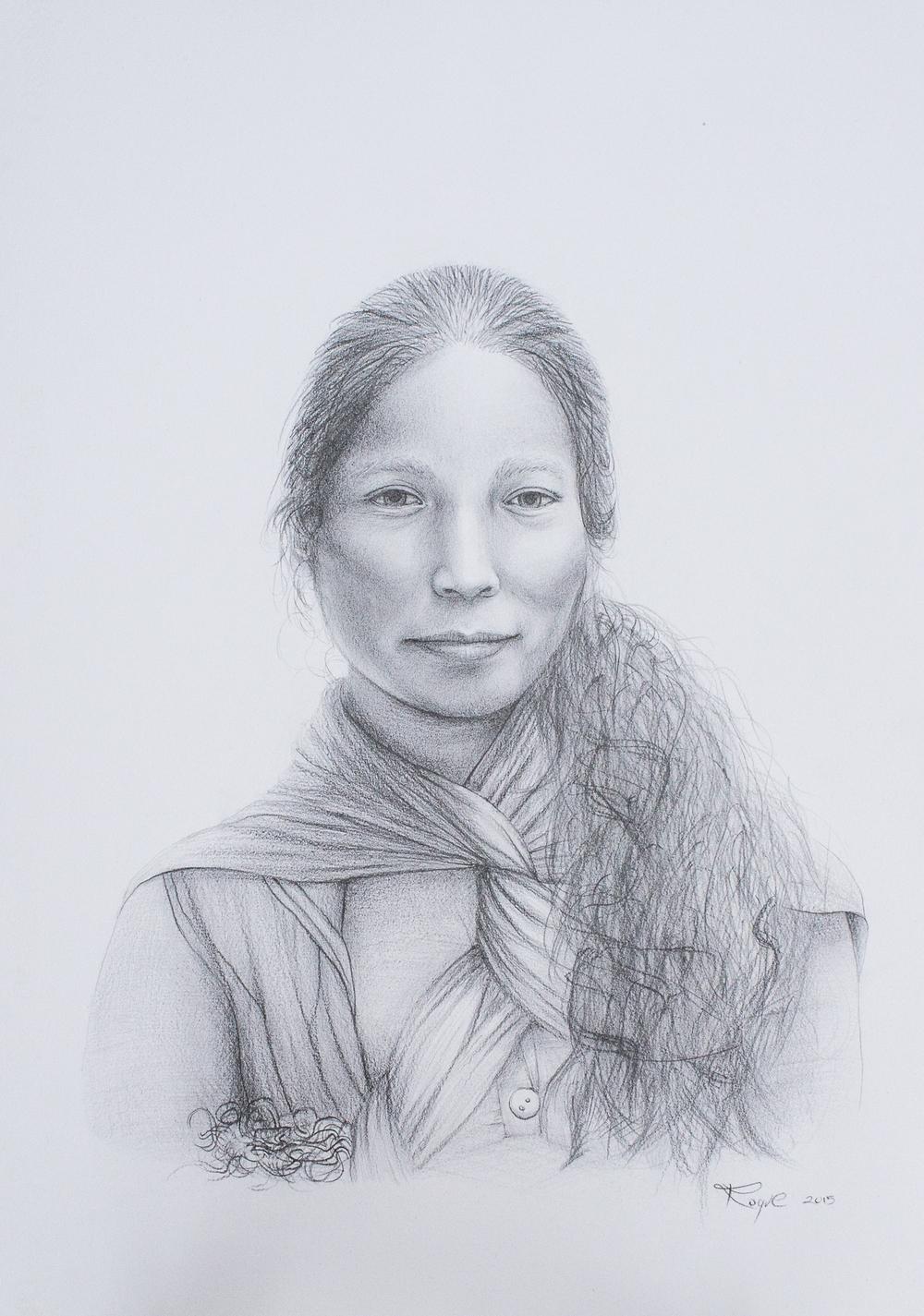 Mujer Mixteca