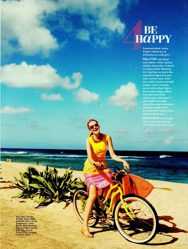 Client: SELF Magazine Photographer: Chris Craymer ocation: Sunset Beach