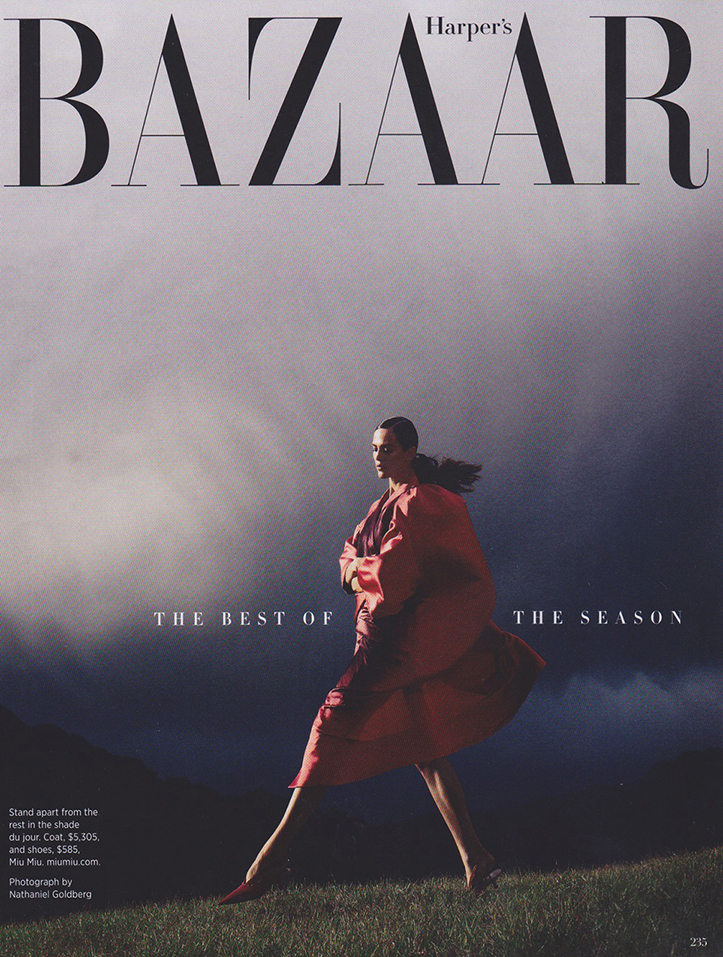 Client: Harper's Bazaar Photographer: Nathaniel Goldberg  Location: Kualoa Ranch