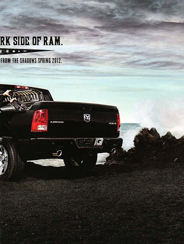 Client: Dodge Ram Photographer: Sacha Waldman Location: Kona, Hawaii