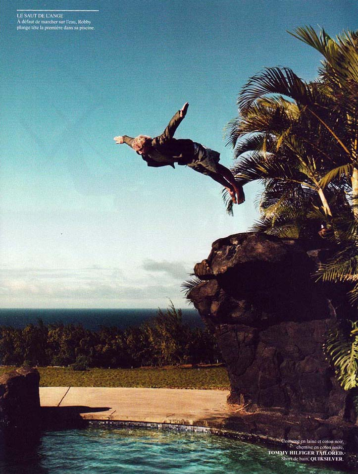 Client: VOGUE Homme, Sport & Style Photographer: Marcel Hartmann Location: Maui