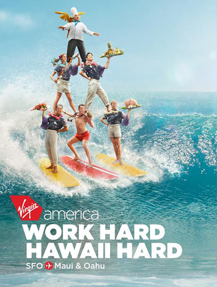Client: Virgin America Photographer: Vincent Dixon Location: Ala Moana Bowls