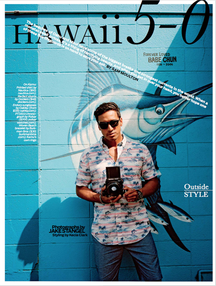 Client: Outside Magazine Photographer: Jake Stangel Location: Chuns Store, Haleiwa