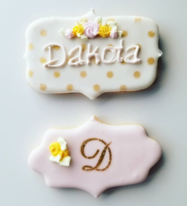 Birthday cookies 💕 #occookies #hautesweetsbakingco #customcookies
