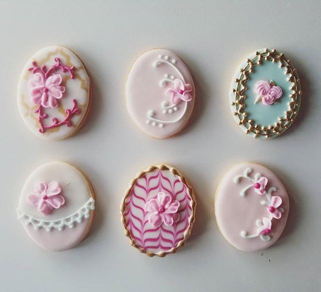 Faberge eggs 💕 #hautesweets #occookies #eastercookies