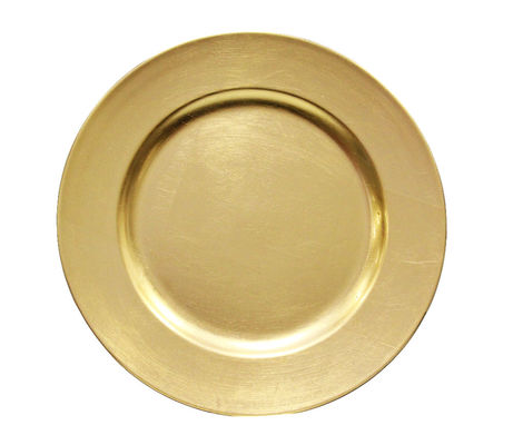KATIE GOLD CHARGER PLATES