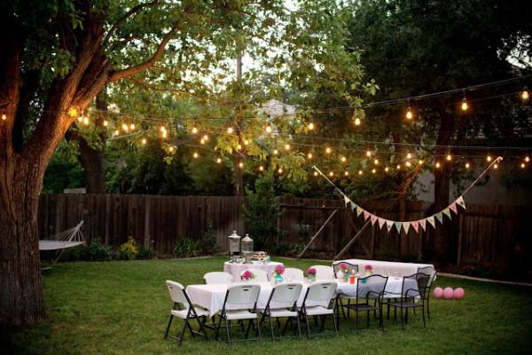 Make your backyard twinkle