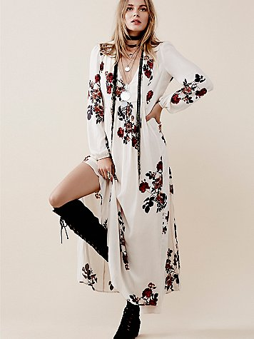 Fashion Trend Alert: Fall Florals