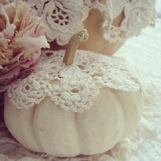 Pumpkin Doilies