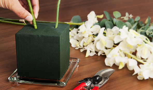 Florist's Foam helps extend the life of your flowers