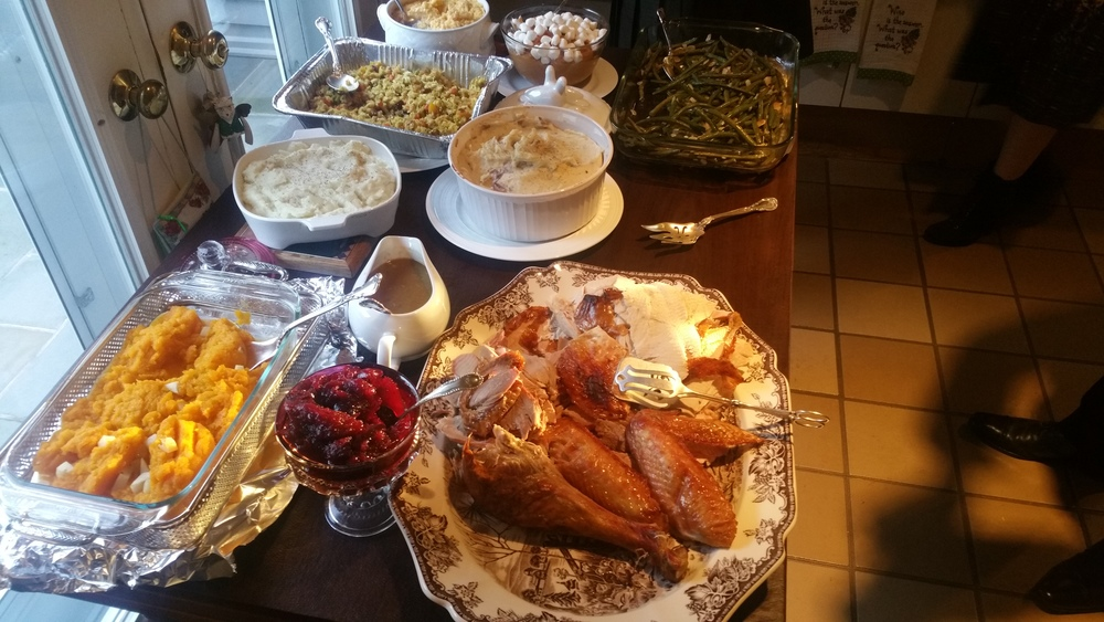 "Thanksgiving ""at home"" with the B Floral Team"
