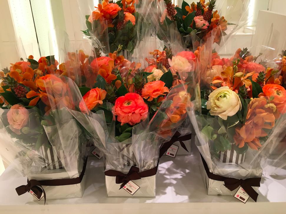 B Floral for Henri Bendel