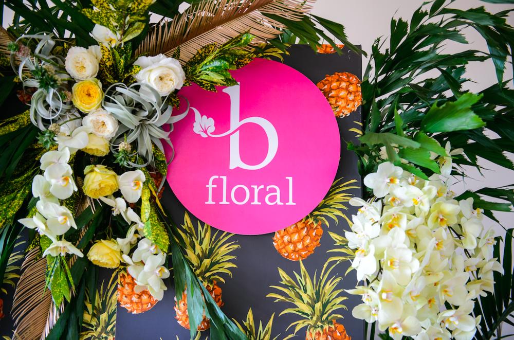 B Floral Flowers - B Floral