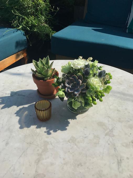 Outdoor Floral Decor - B Floral